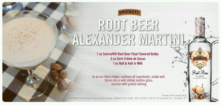 Rootbeer float vodka   Enjoying A Drink   Pinterest