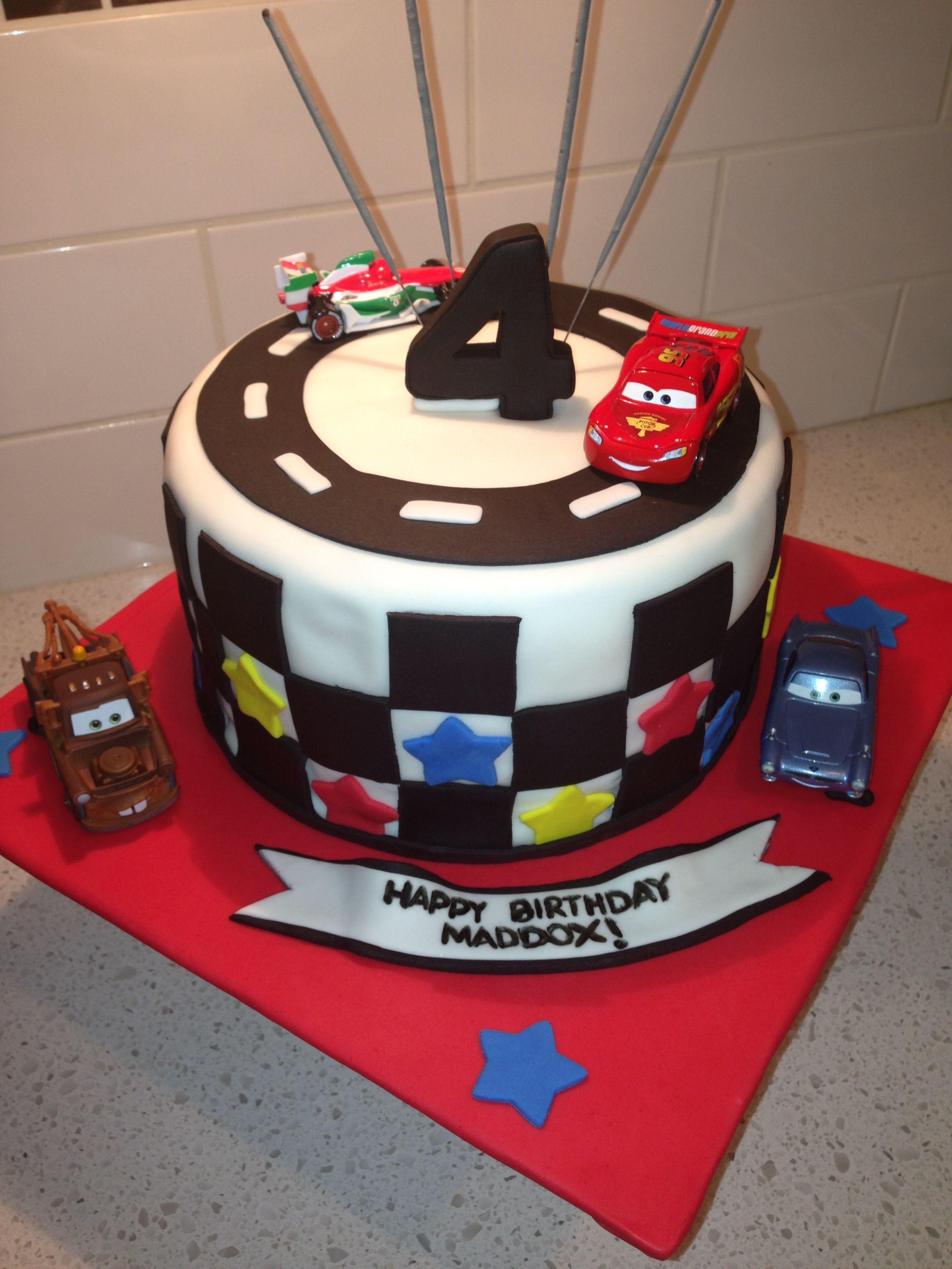 Disney Cars Cake Birthday Parties Pinterest