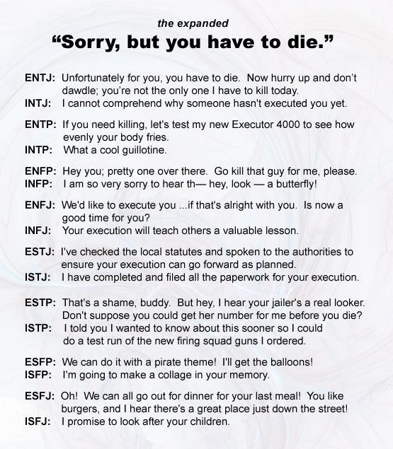 Myers-Briggs Uncomfortable Chart Petition to call Authors - service writer resume