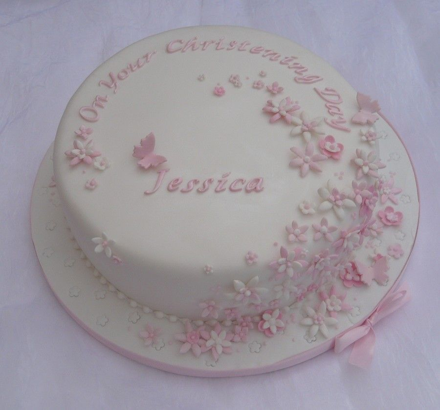 Christening Cake Designs For Girl : Yet another precious christening cake. Baby Fever ...