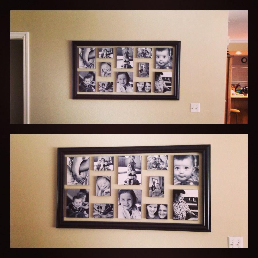 Wall Picture Arrangement With Frame For The Home