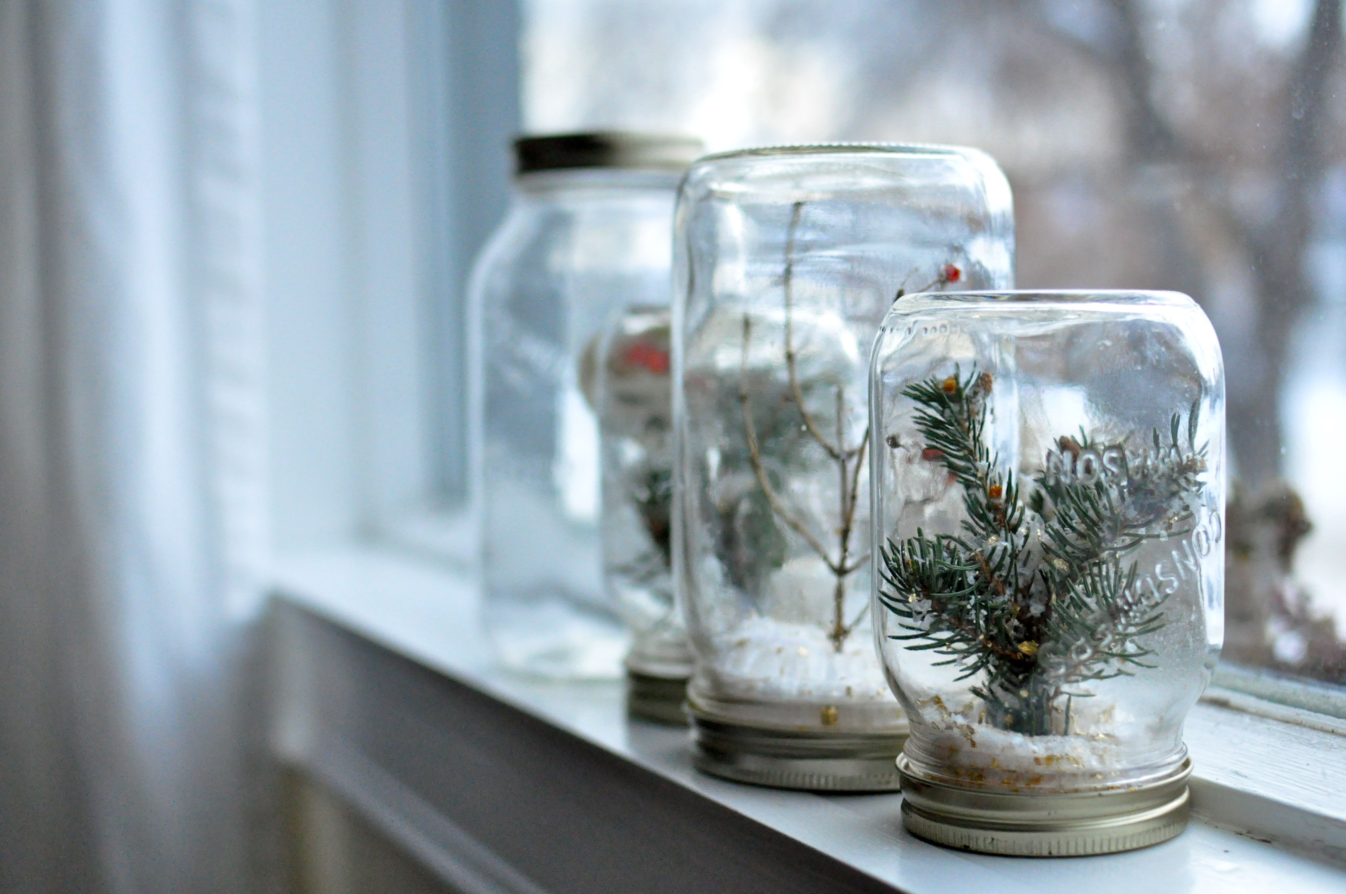 Diy Mason Jar Christmas Crafts Christmas Pinterest
