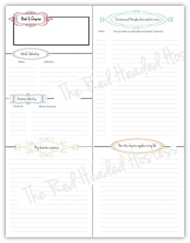 journal templates free