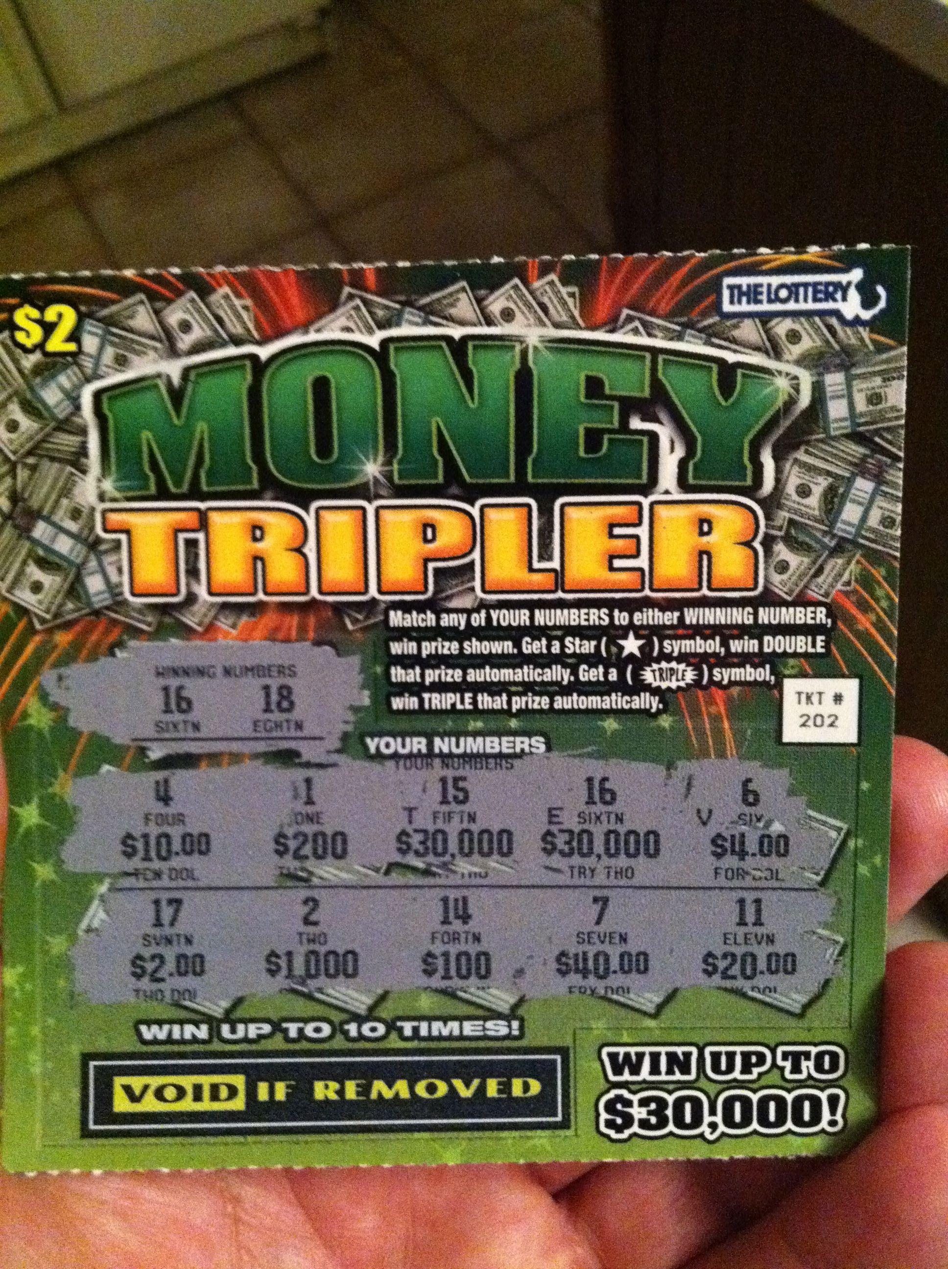3000000 Winning Scratch Ticket I Am A Mega Lottery