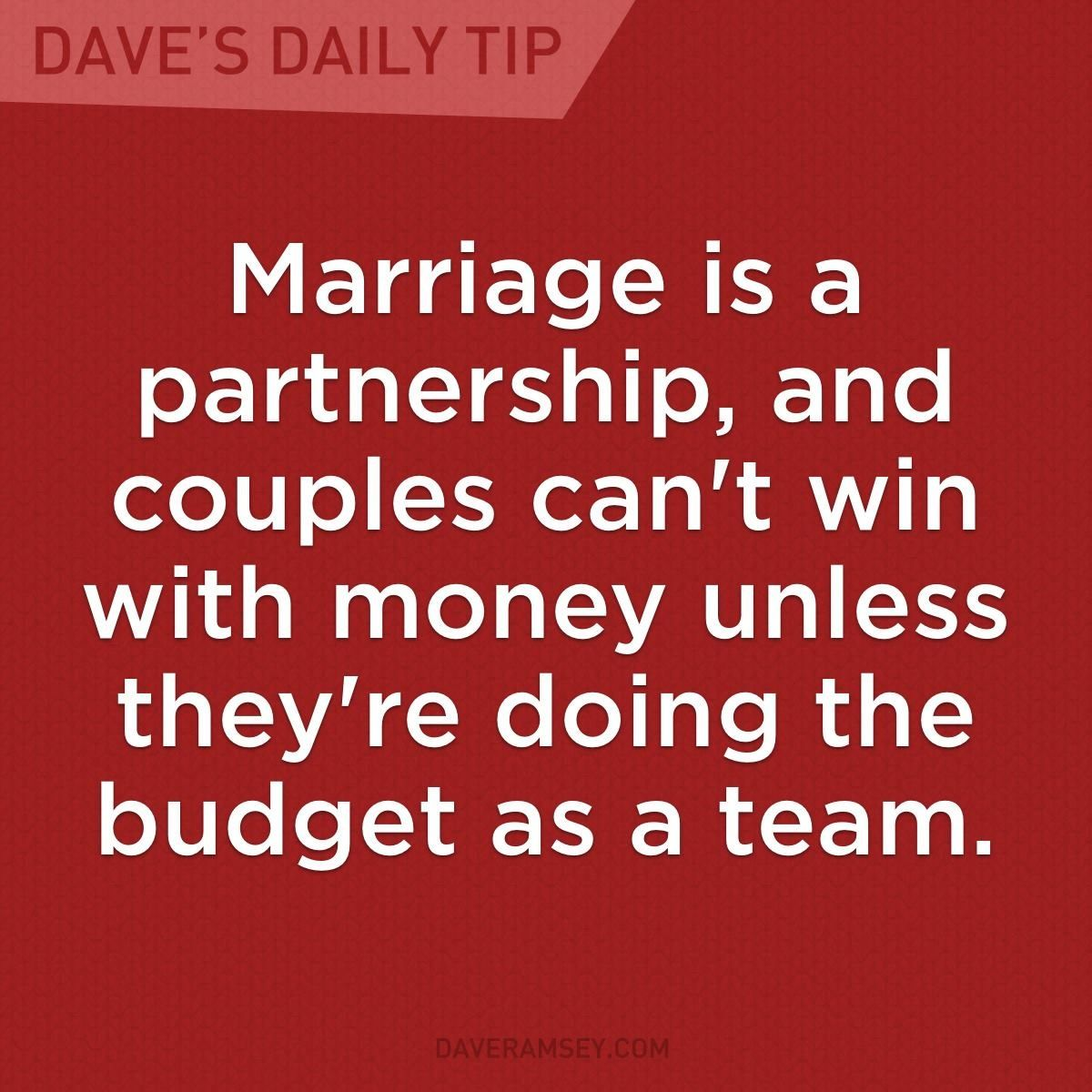 money in marriage Money problems in marriage often happen because couples don't get started correctly with their finances these 8 tips help you start down the right path.