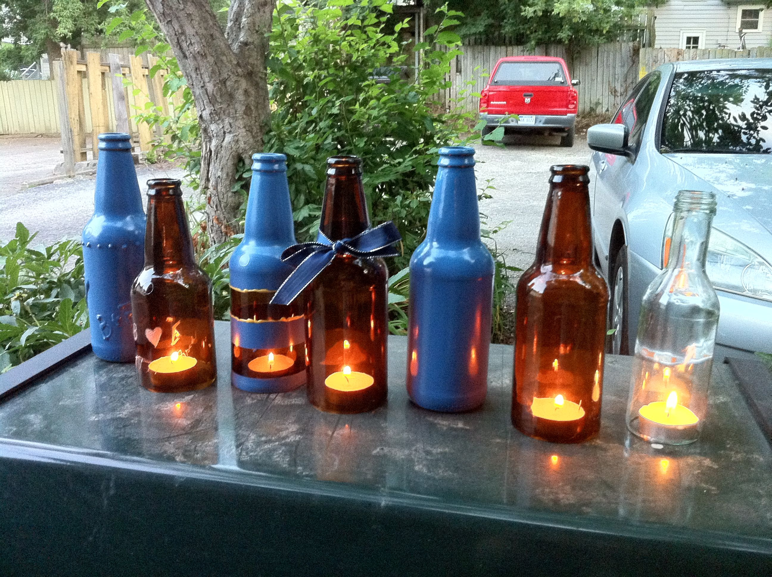 beer bottle decoration ideas prototypes price geiss