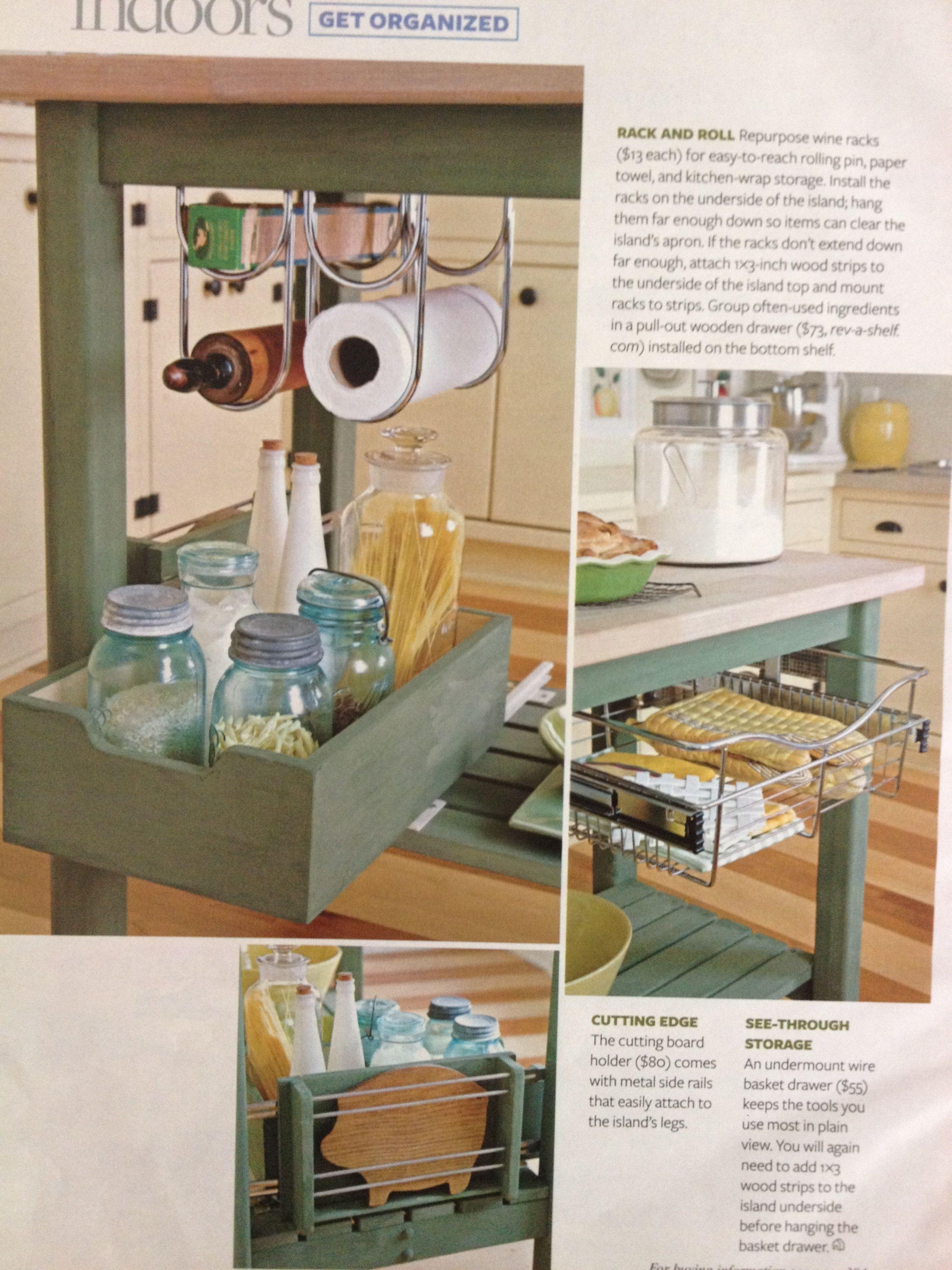 DIY Kitchen Island | Furniture Makeovers | Pinterest