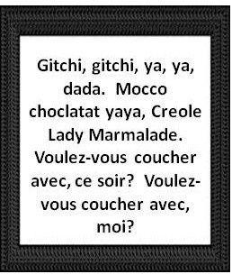 lady marmelade lyric: