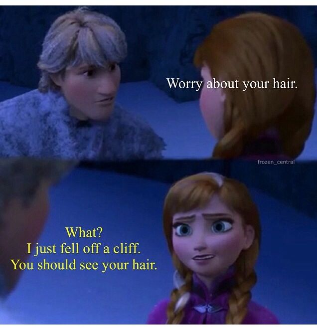 Anna and kristoff - funny | Frozen | Pinterest