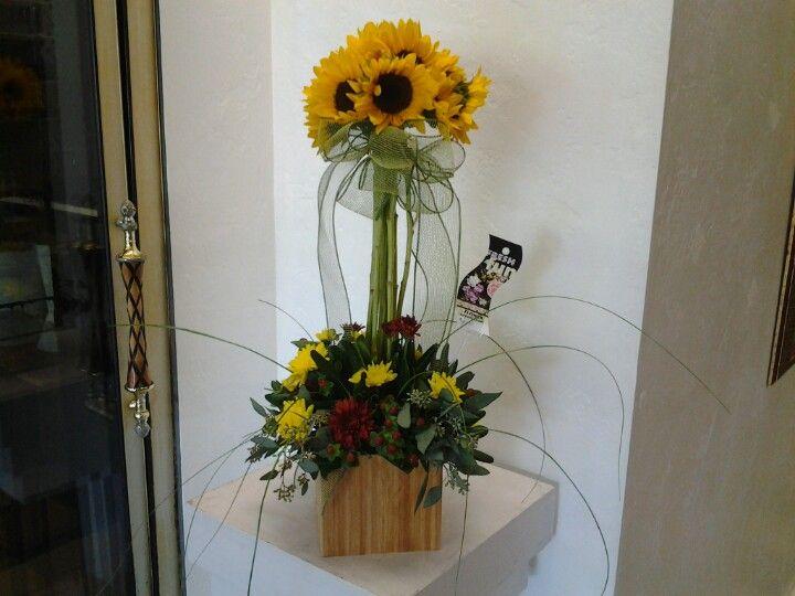 Sunflower Floral Arrangement Wedding Ideas Party