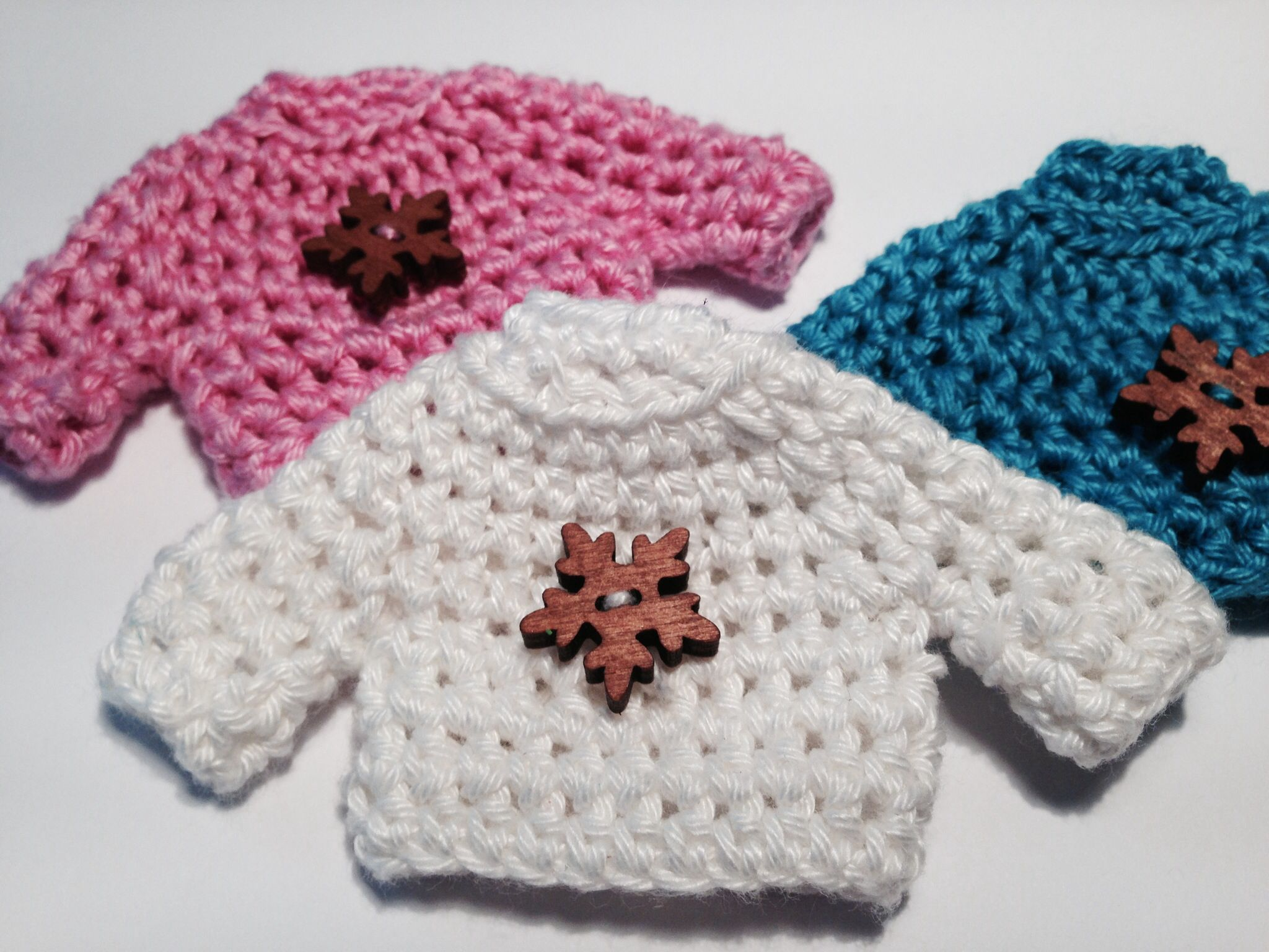 Crochet Keychain : Crochet keychain pullover keychain Pinterest