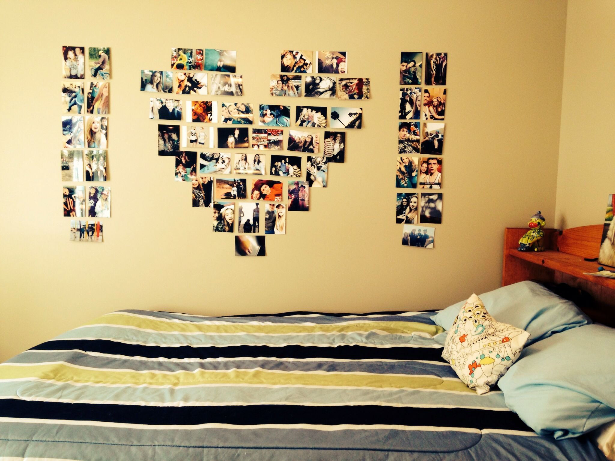 Wall Photo Collage Ideas For Teens