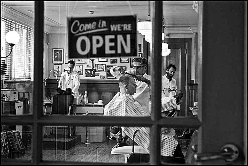 New York Barber Shop Barber Shop Pinterest