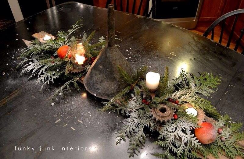Industrial christmas! | Industrial Chic | Pinterest