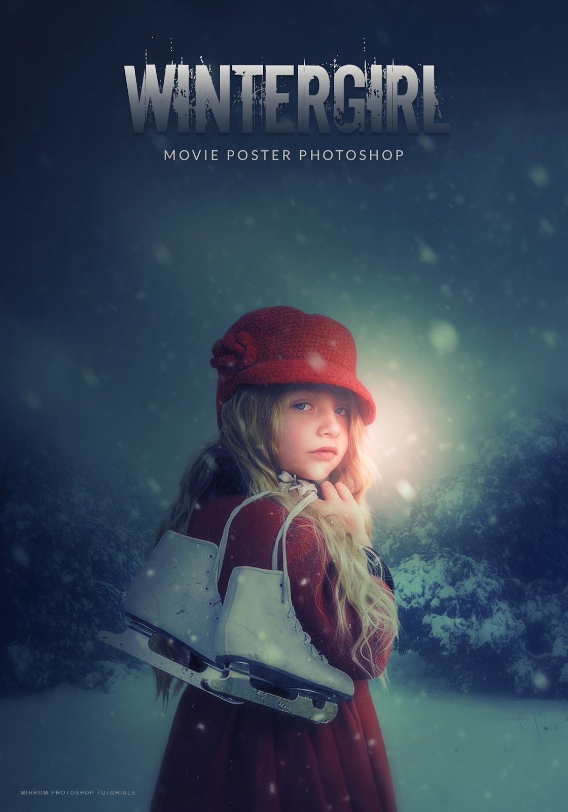 Create a movie poster with photoshop