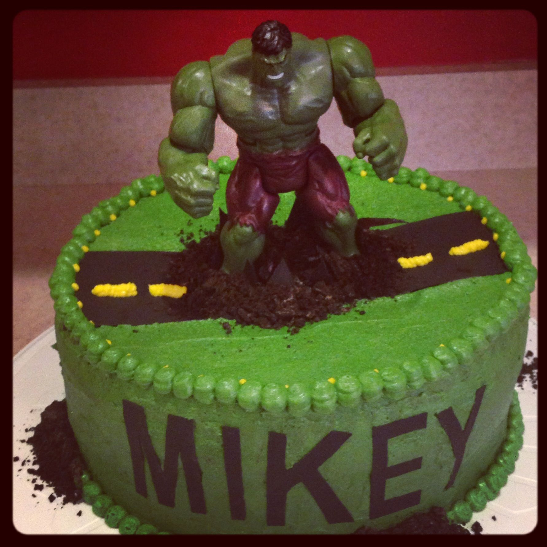 Hulk cake  Cakes  Pinterest