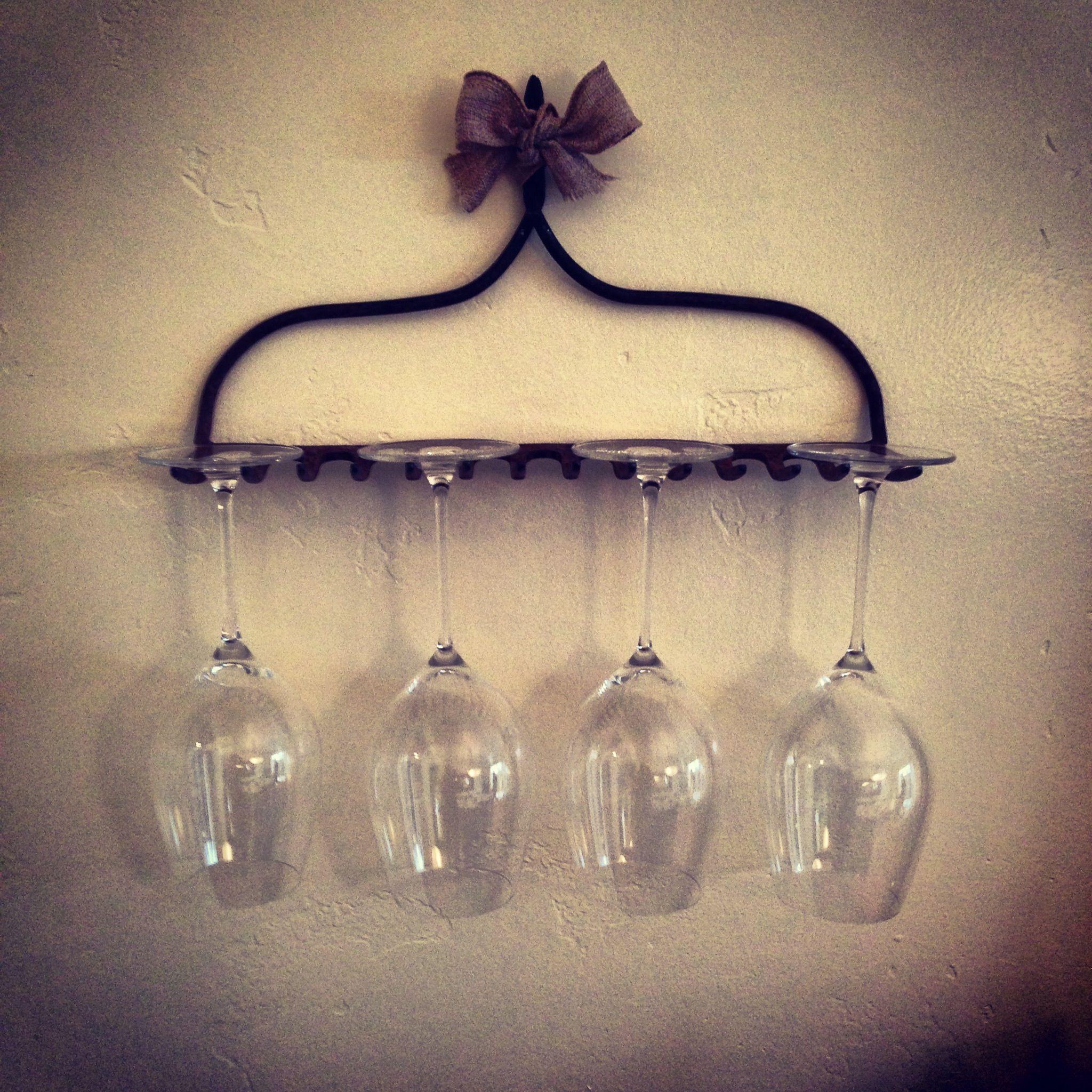 Wine Glass Holder Home Pinterest
