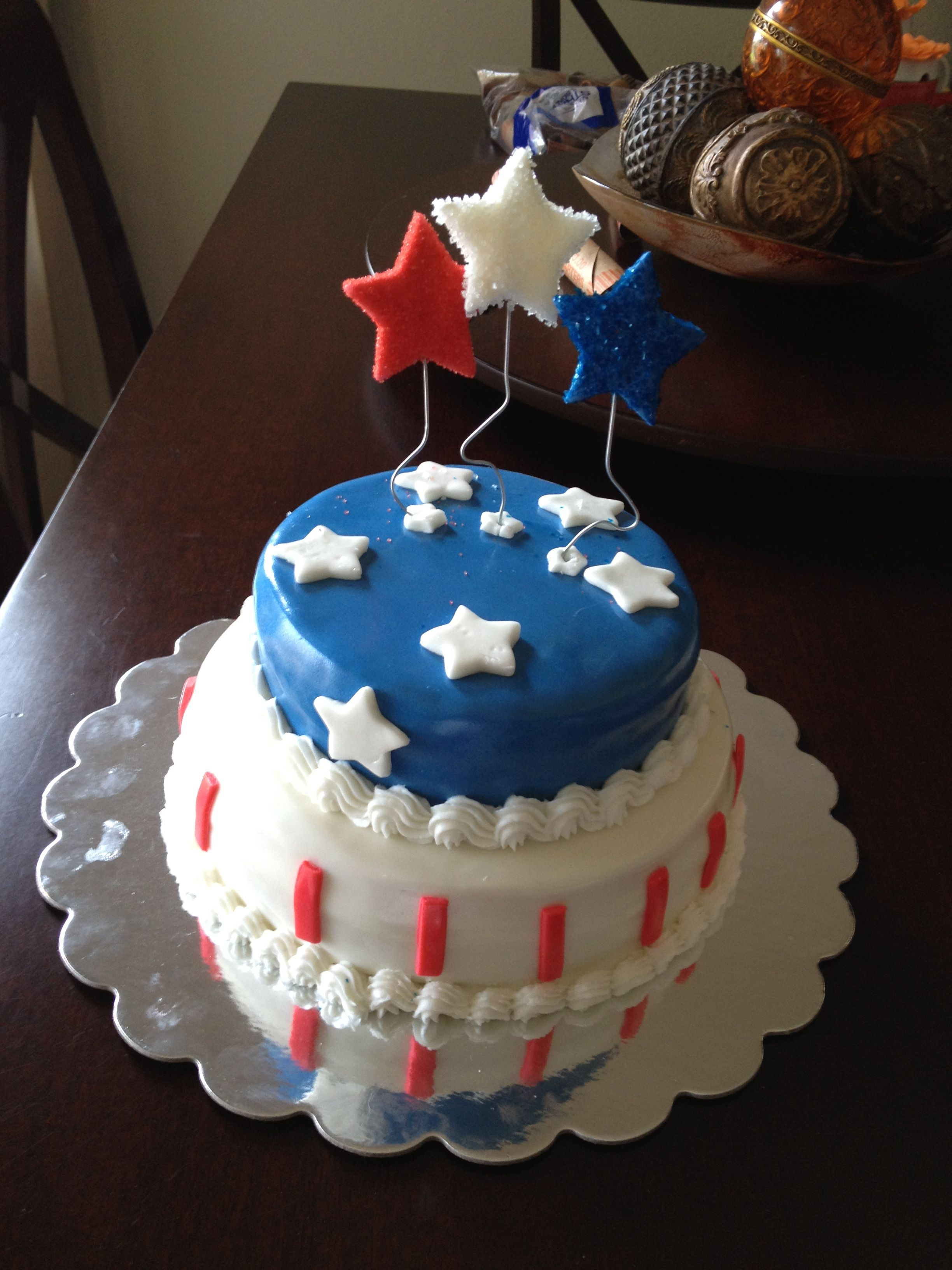 Cake Decorating Ideas For Labor Day : Labor day cake. Cute cake Ideas Pinterest