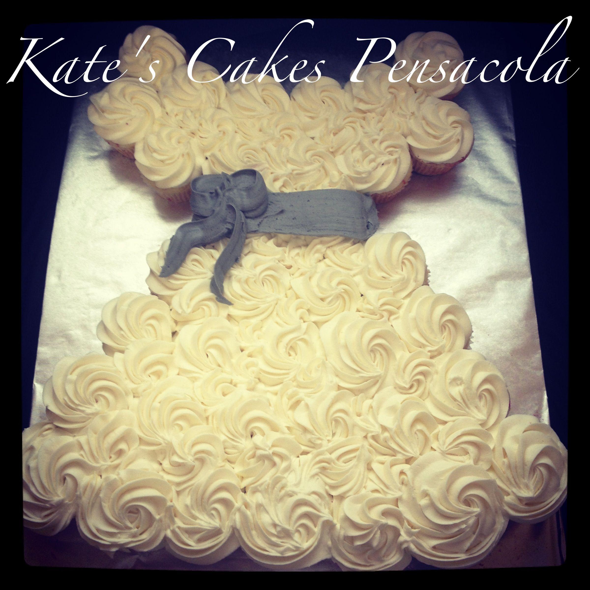 Bridal Shower Cupcake Wedding Cakes