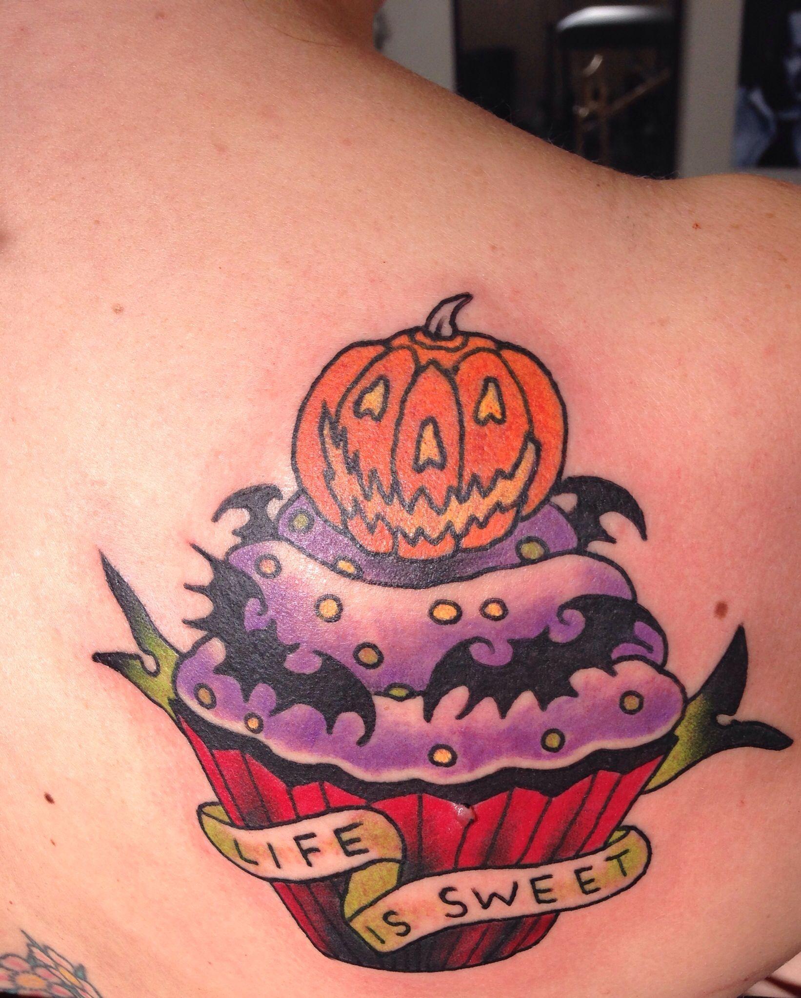 simple halloween tattoo ideas