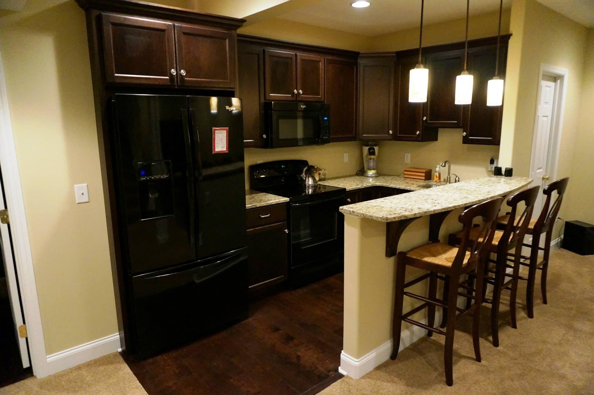 Basement kitchen home ideas pinterest for Basement kitchens ideas