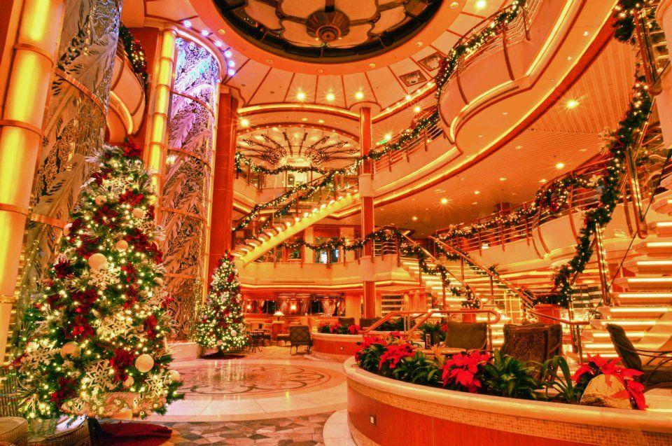 Christmas On A Cruise Ship  Christmas  Pinterest