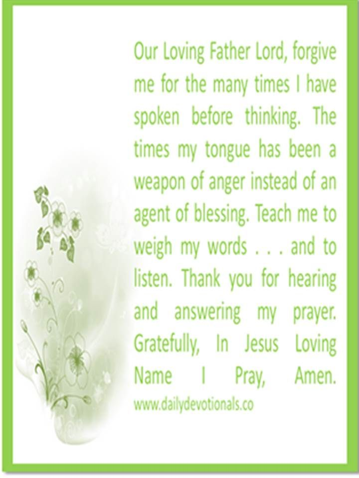 In Jesus Name I Pray, Amen. | Prayer | Pinterest