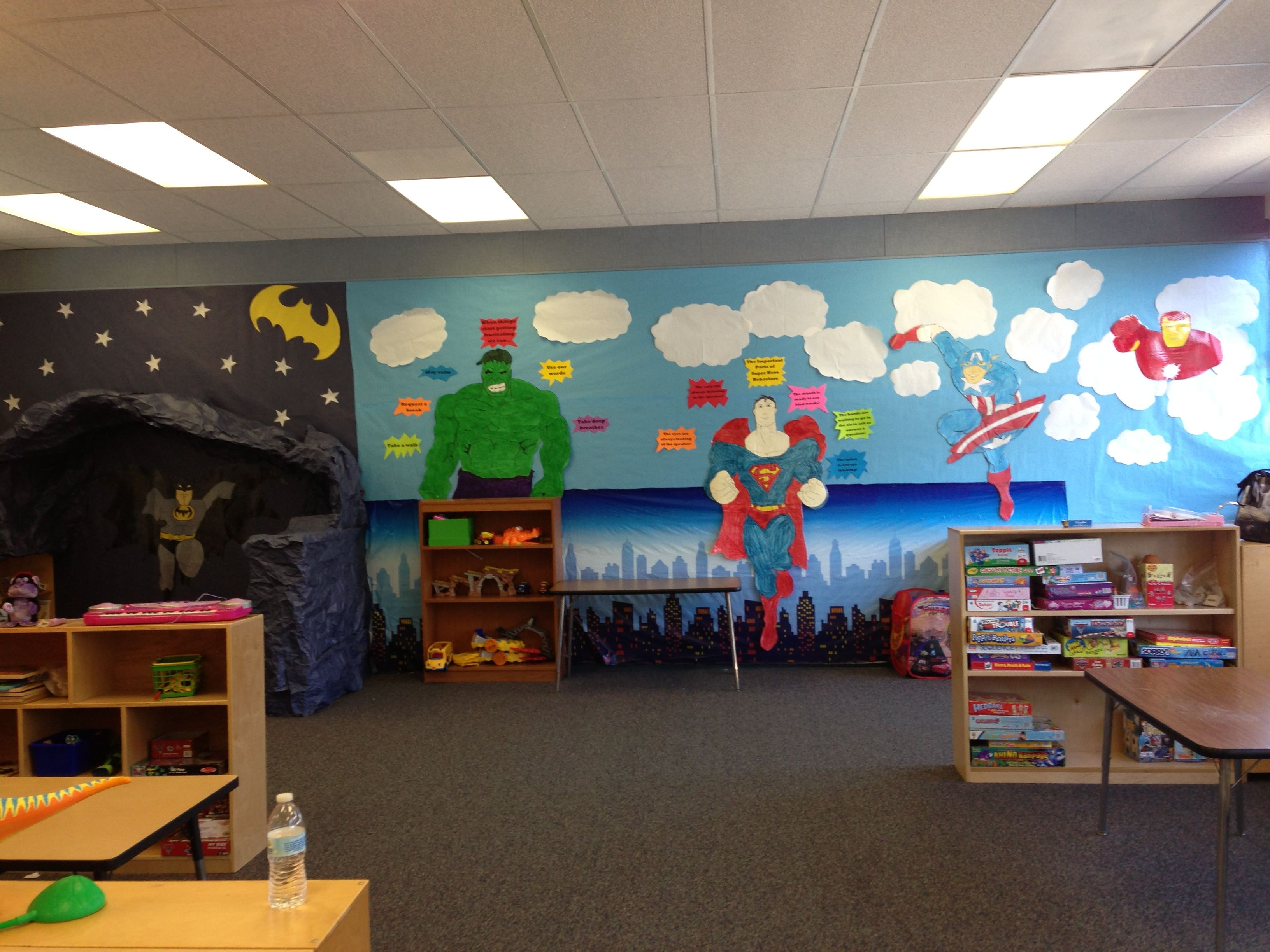 Elementary Super Hero Classroom Ideas ~ Superhero classroom theme pictures to pin on pinterest