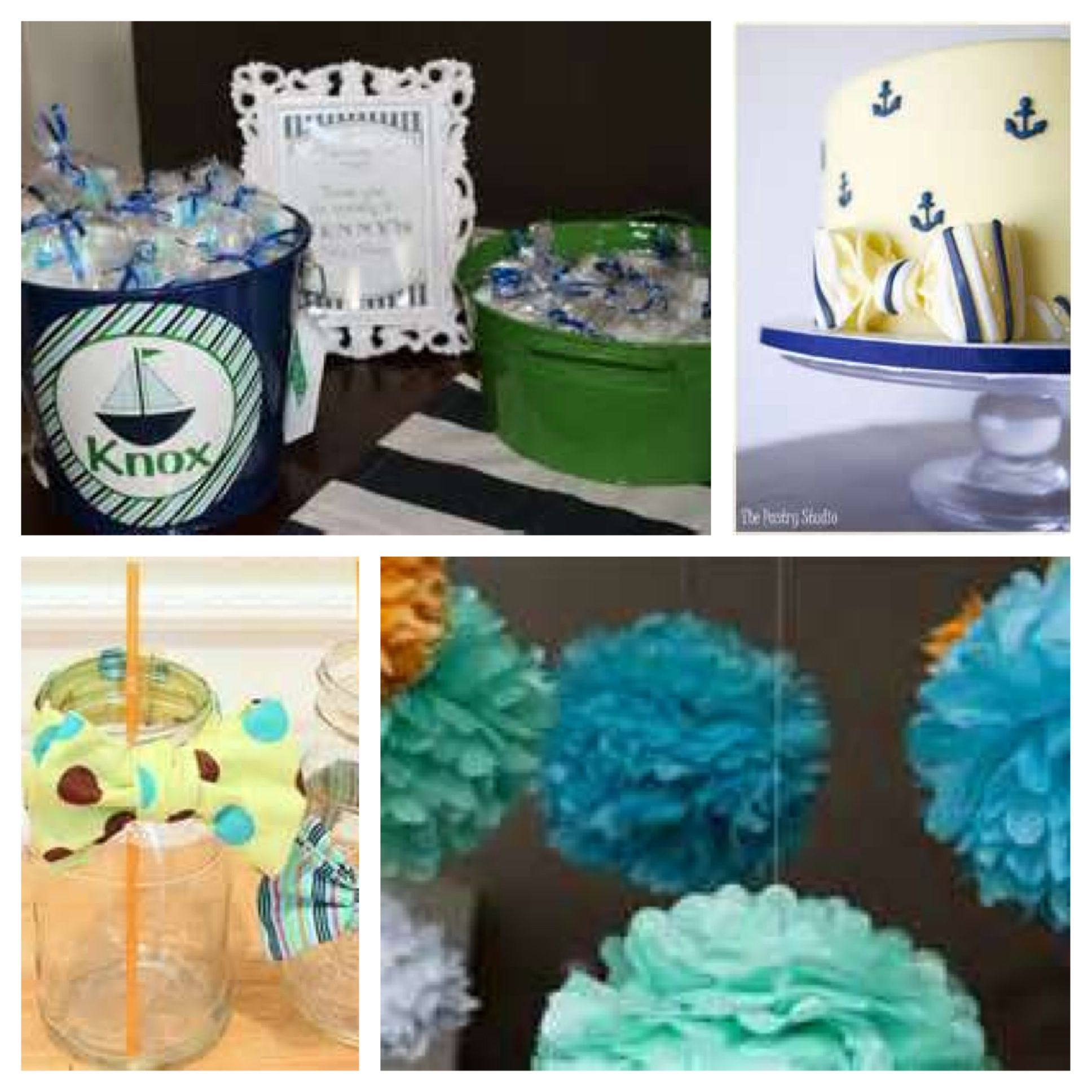 nautical baby shower theme party ideas pinterest