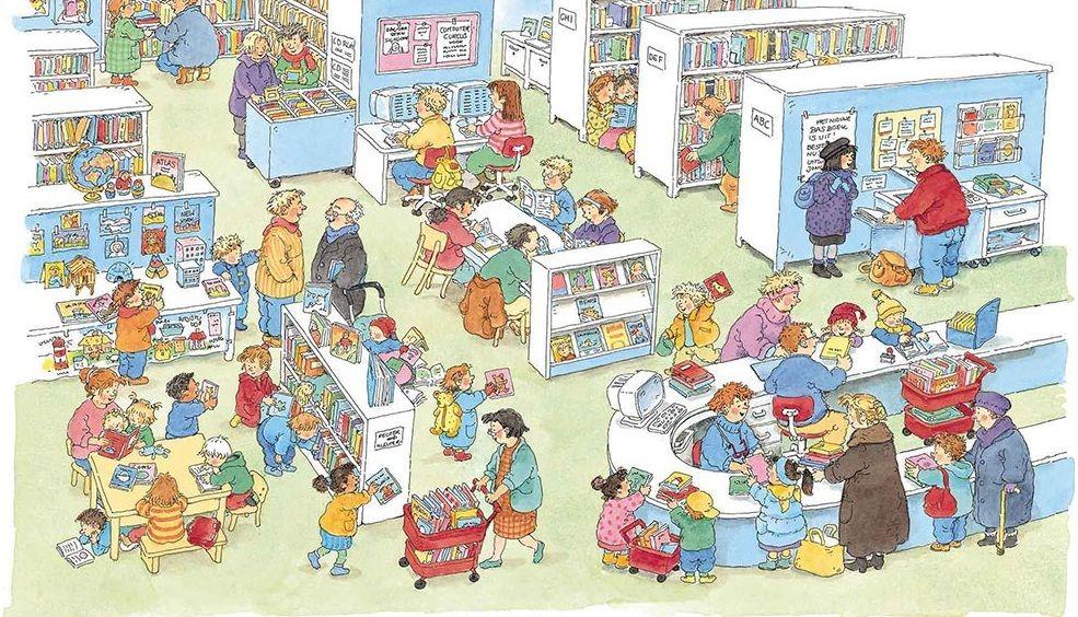 Prins mauritsschool enschede groep 1 en 2 - Idee bibliotheek ...