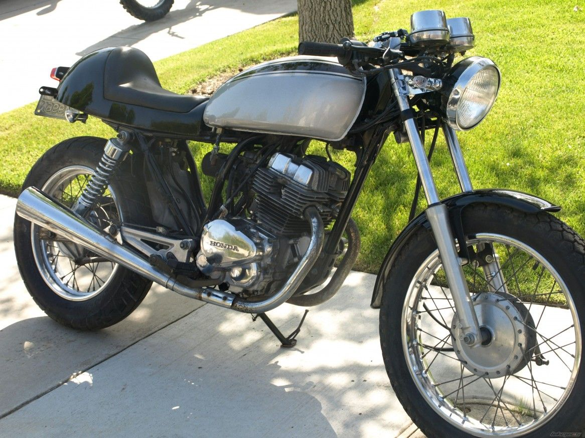 Cafe Racer Superb Nighthawk Motorbike Honda Cb 250