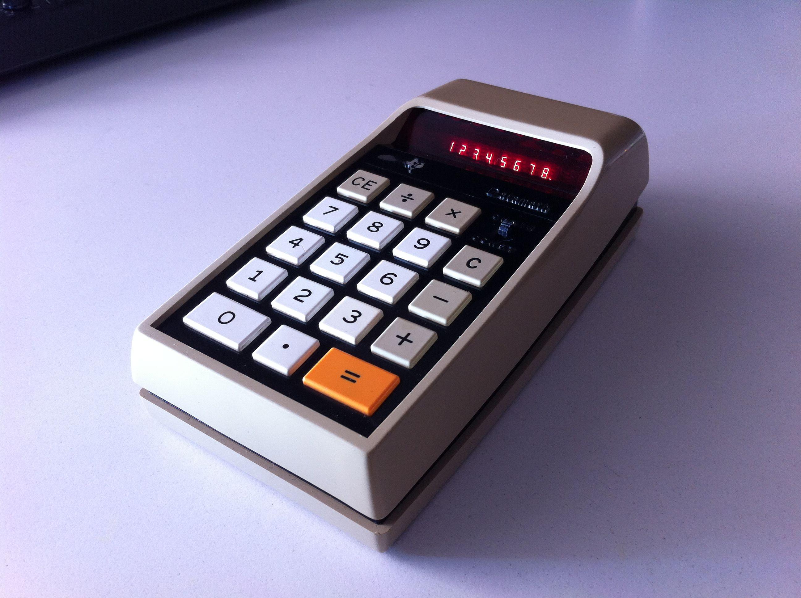 TI Datamath vintage calculator | Vintage Calculator ...