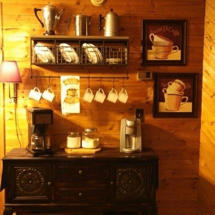 Coffee Bar Home Improvement Pinterest