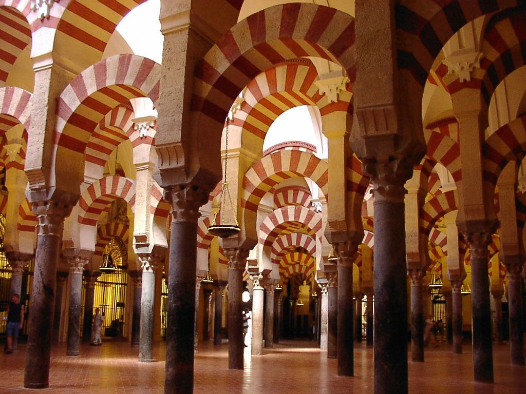 La Mezquita Córdoba  Spain & Portugal  Pinterest
