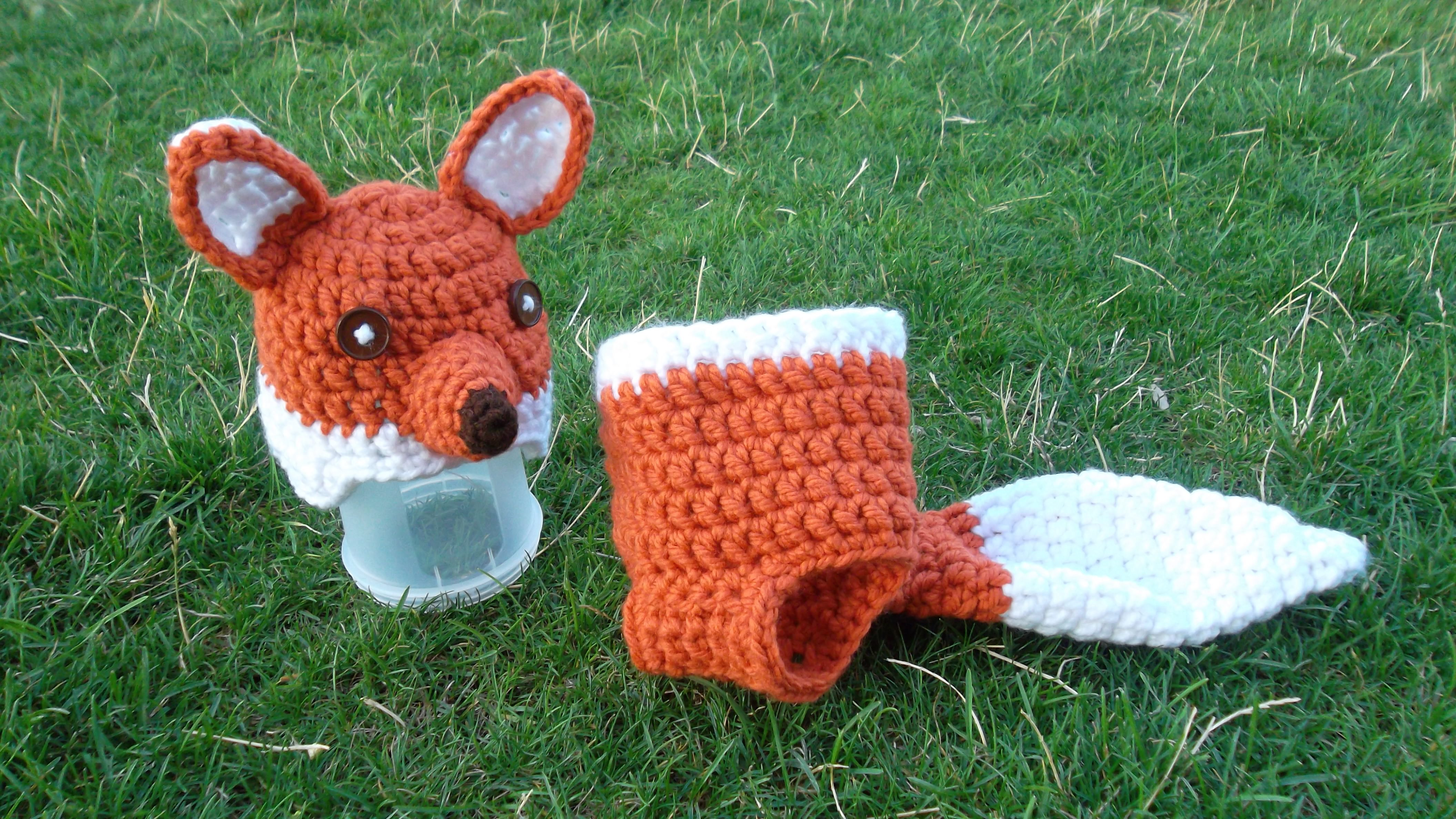 crochet fox Crochet and Knitting Pinterest