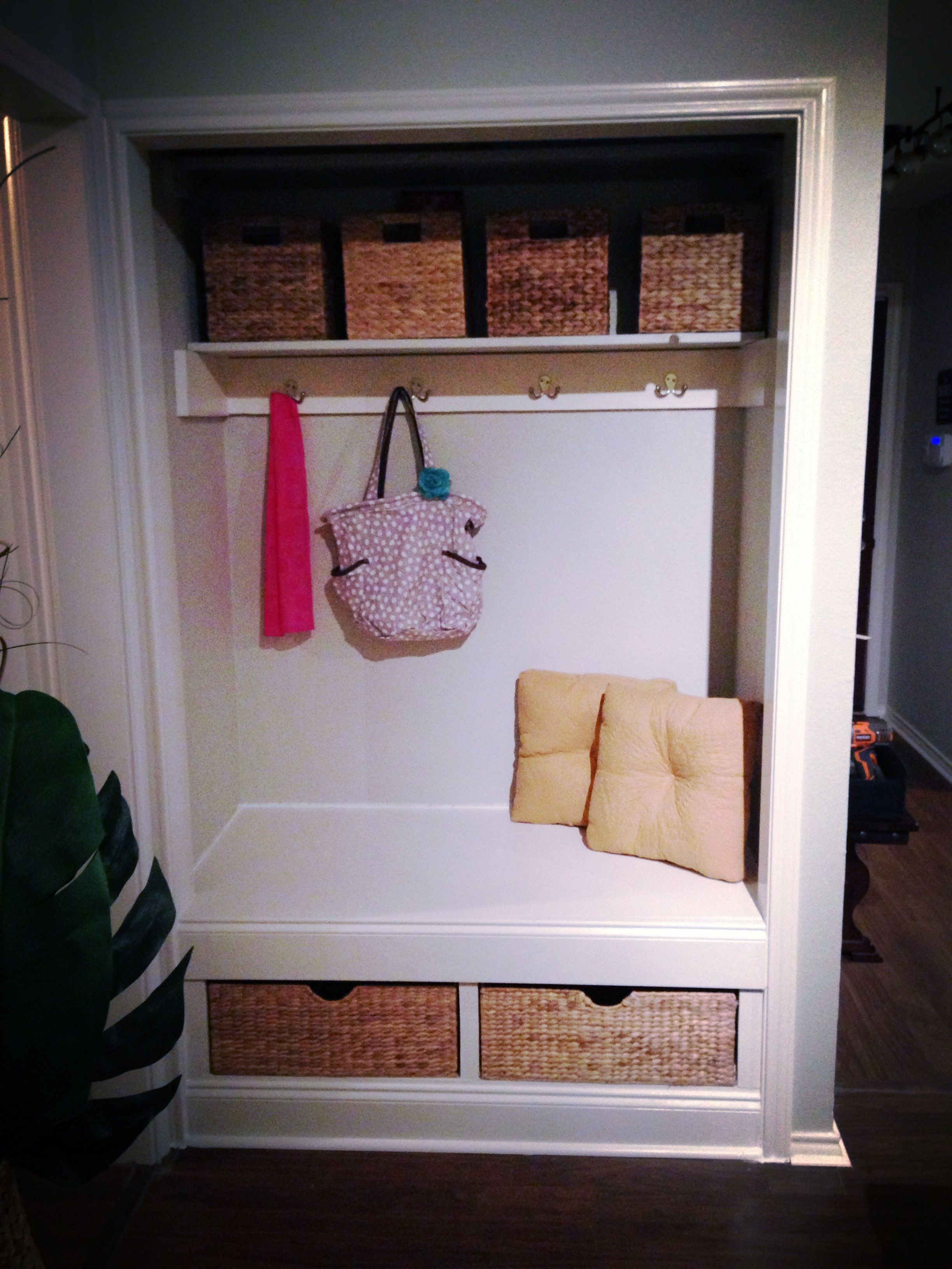 Closet Nook For The Home Pinterest