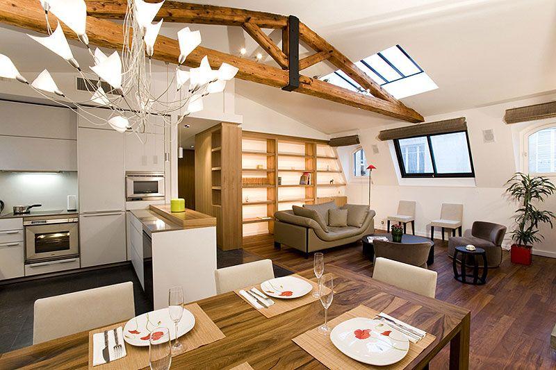 Salone Con Cucina A Vista. Scarica Il Progetto Completo In Pdf With ...
