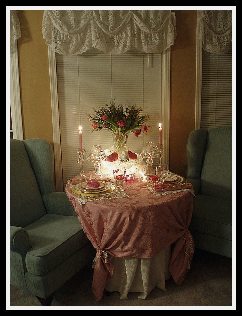 Romantic Dinner for Two | Table Settings | Pinterest