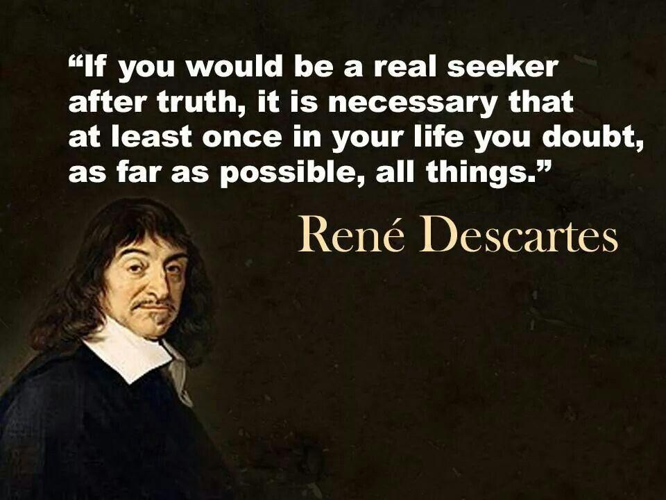 René Descartes (1596—1650)
