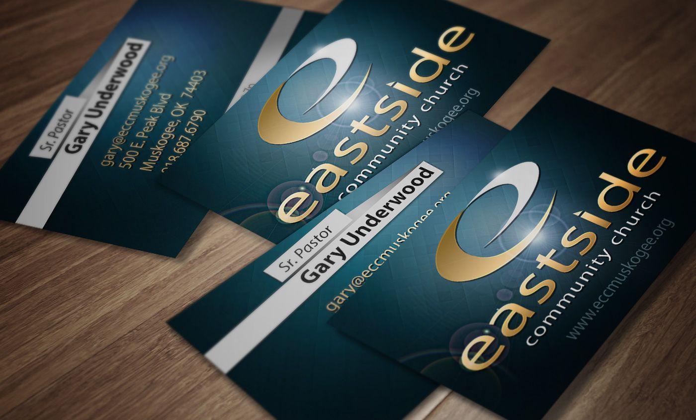 Eastside munity Church Business Card Designs