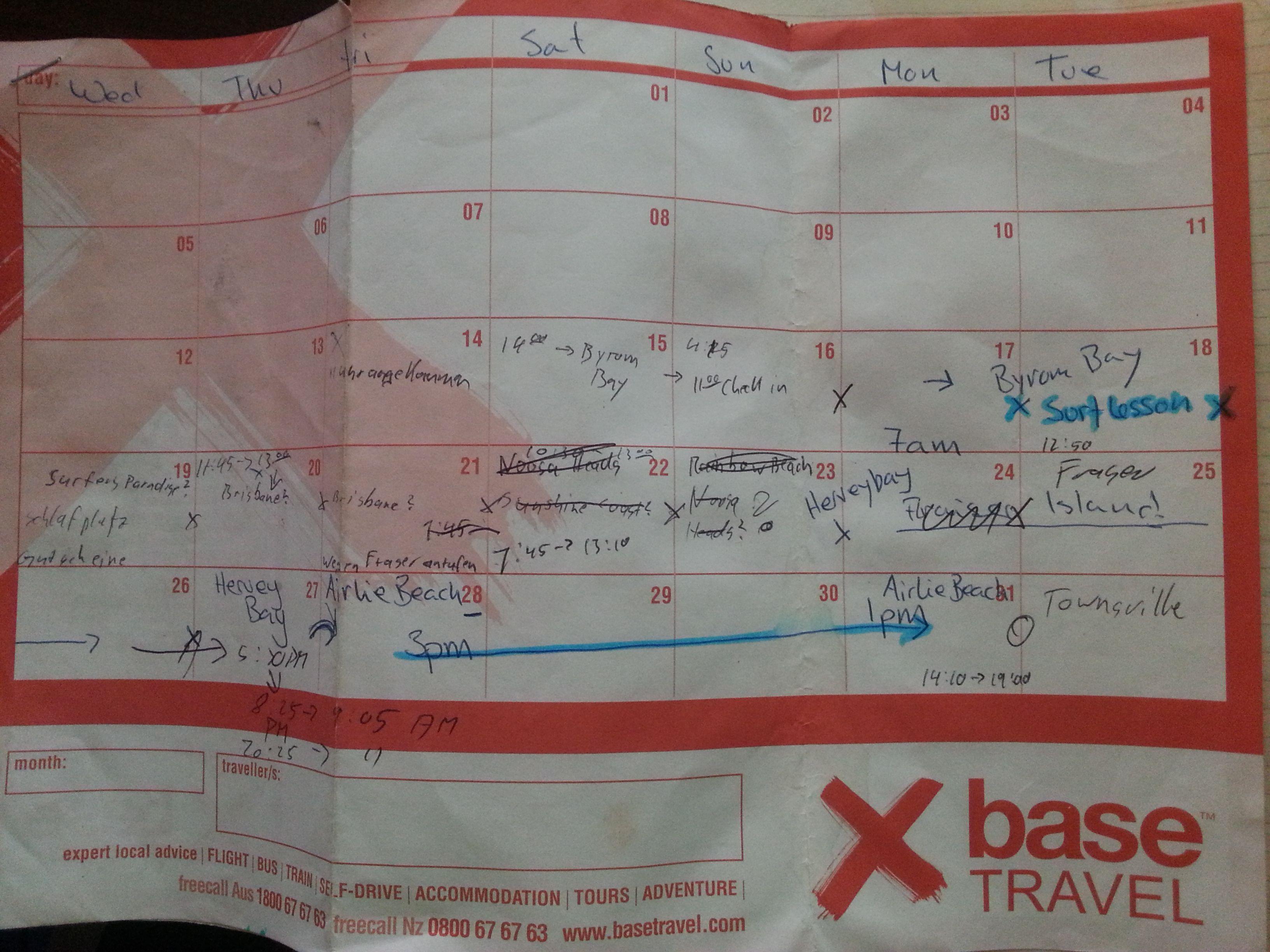 x-Base Sydney | Australientrip planung Seite 1
