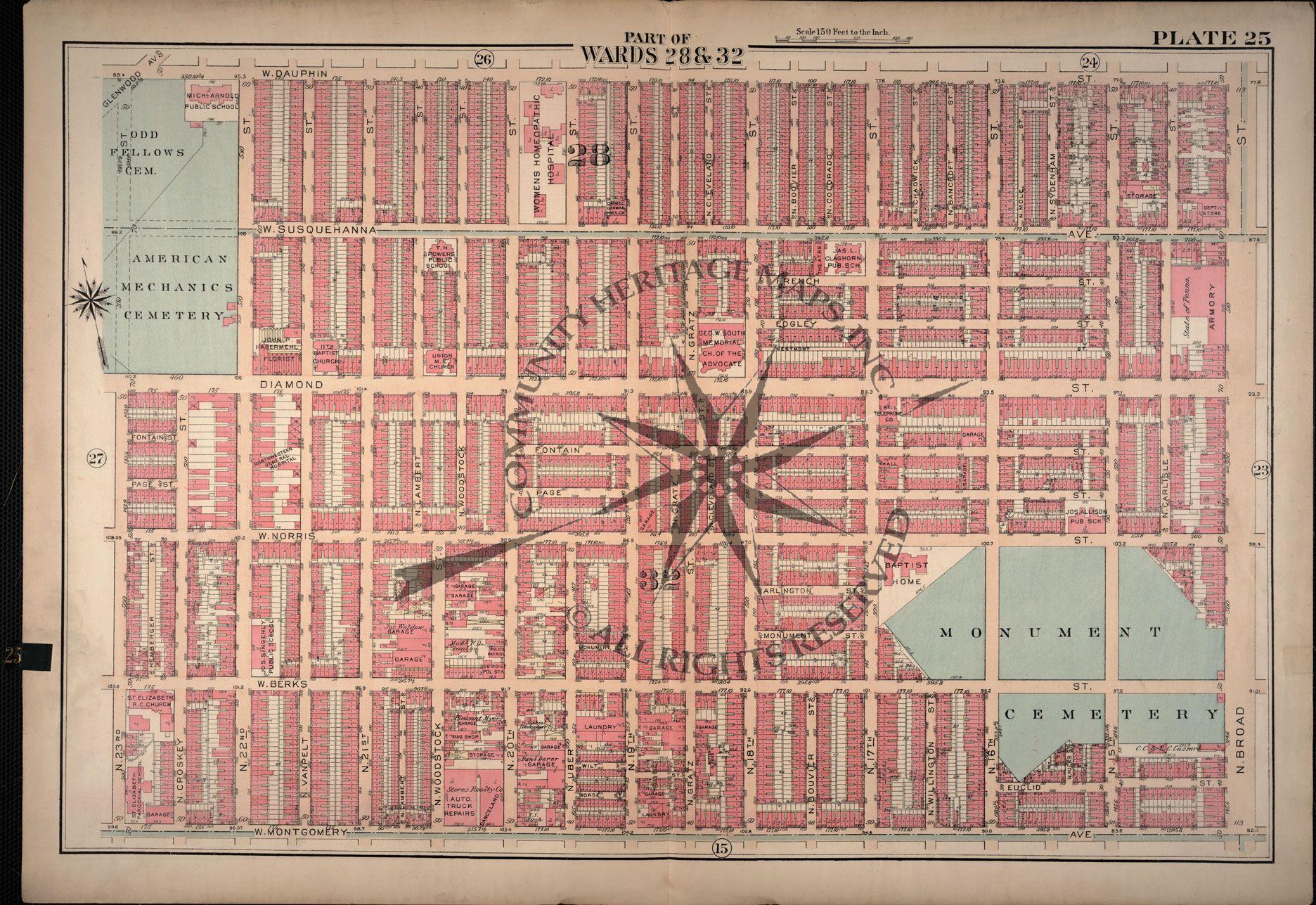 Historic Map Of Philadelphia  Tattoos Amp Ideas  Pinterest