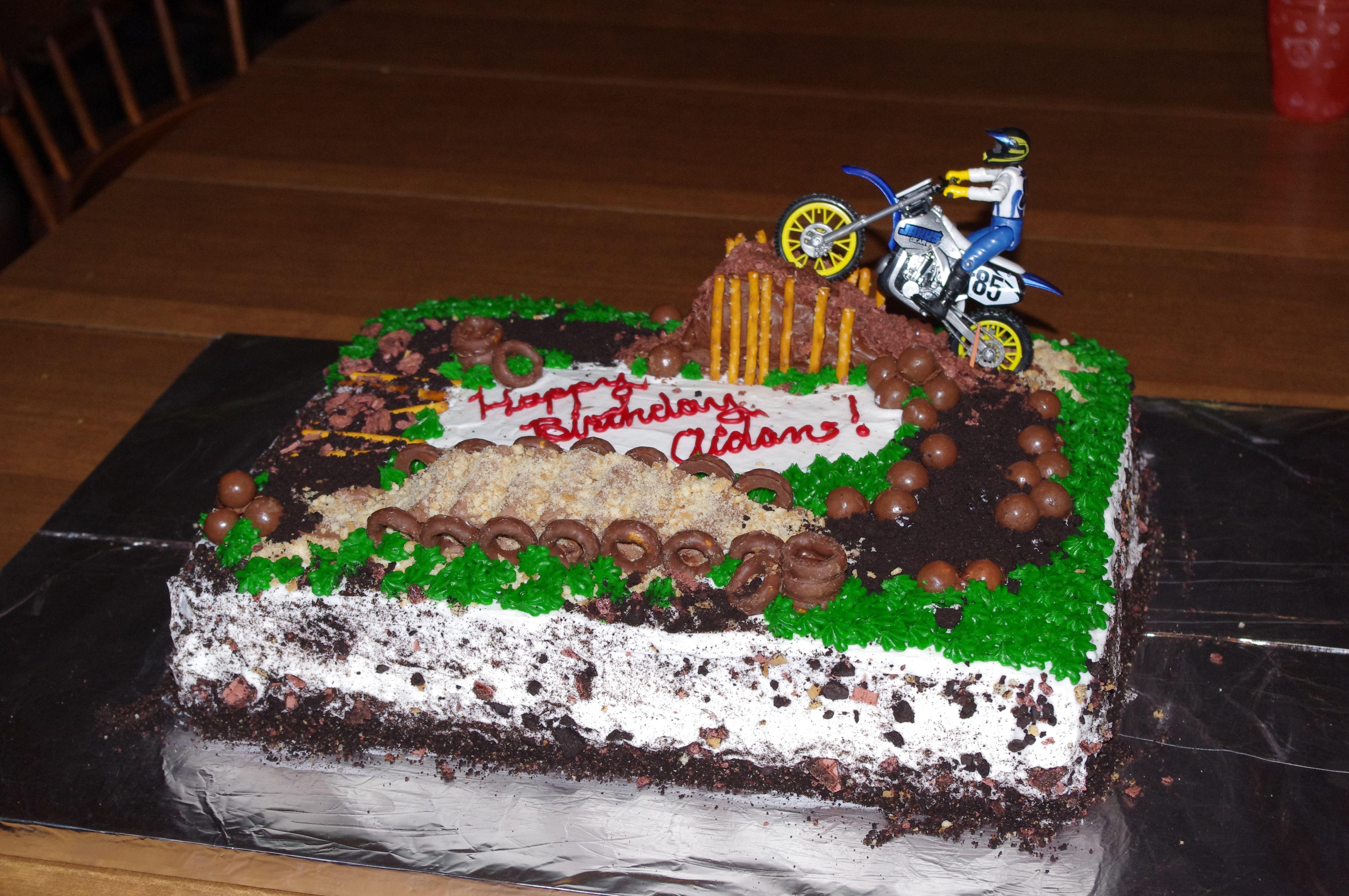dirt bike cake - photo #37