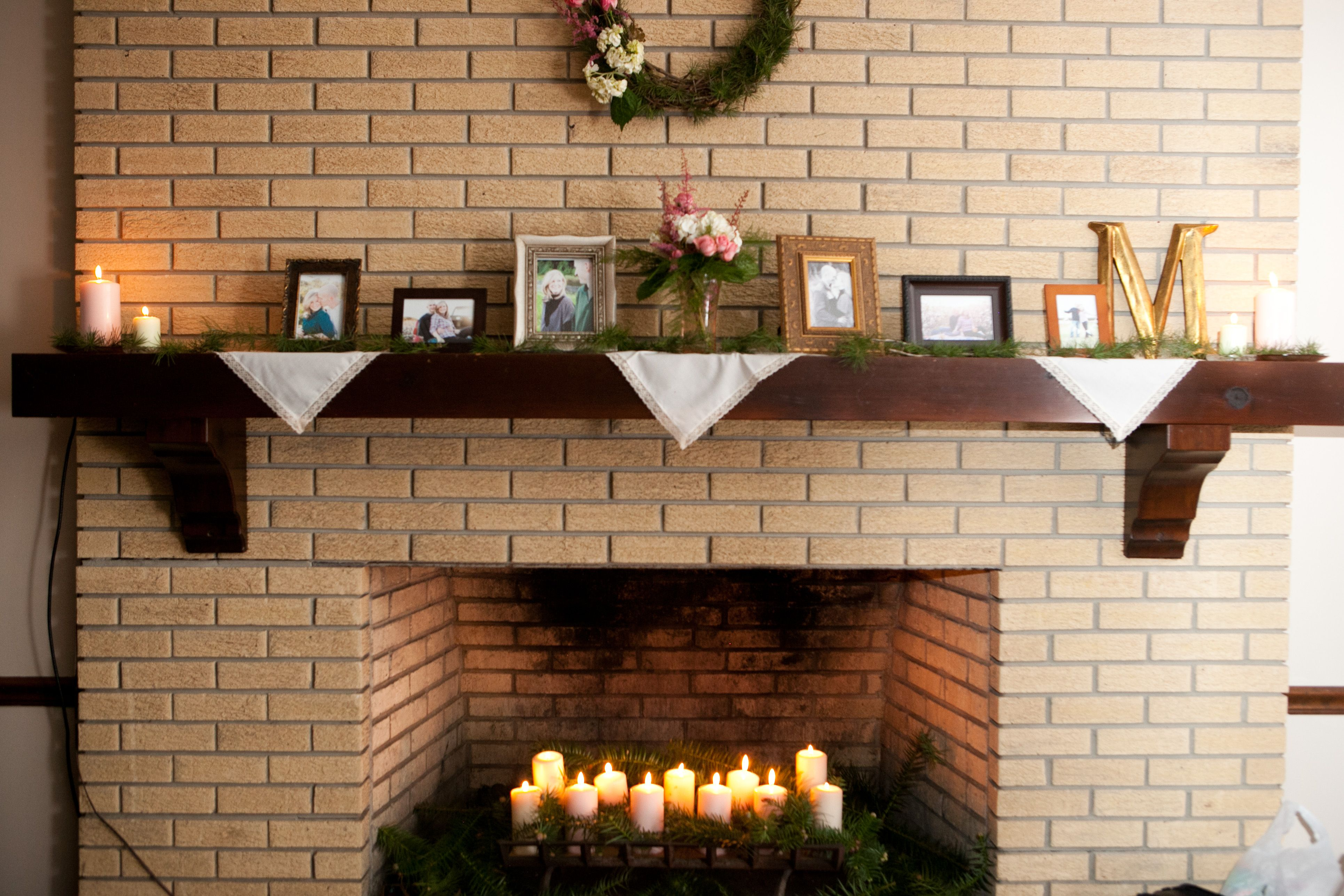 mantle display for the home pinterest