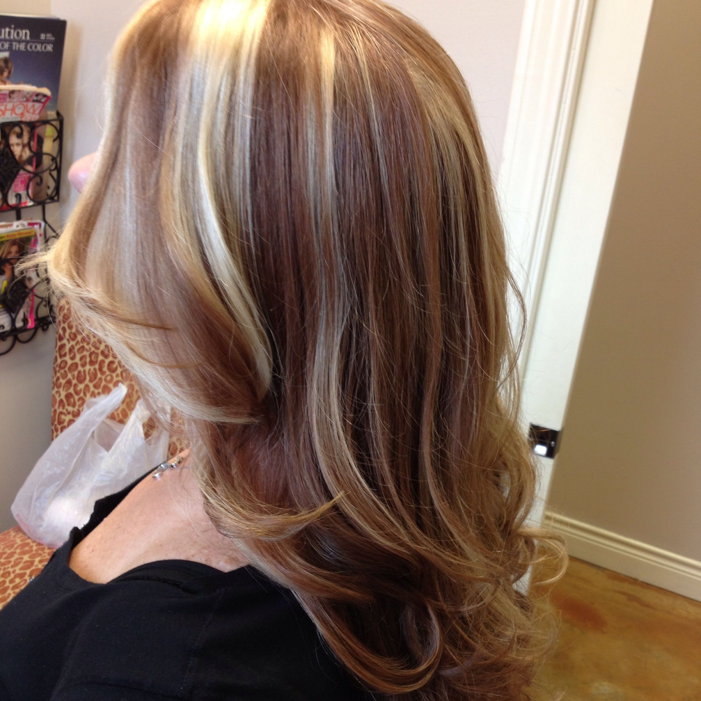 Bold/highlights/blonde/ copper/beige   Fashion and hair and beauty ...