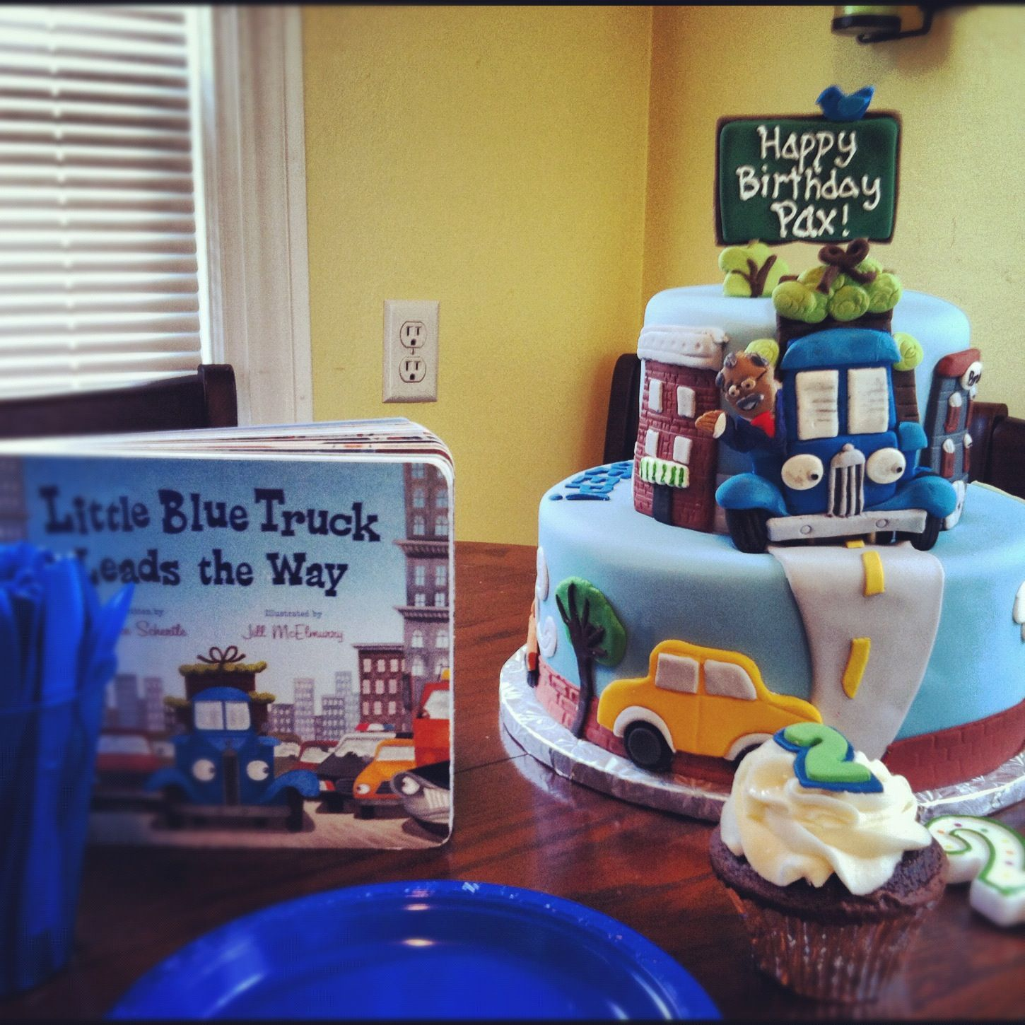 another Little Blue Truck cake  Little Blue Truck  Pinterest