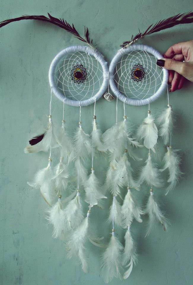 Owl dream catcher diy easy video tutorial the whoot for Ideas for making dream catchers