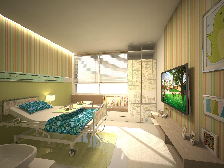 pediatric hospital patient's room | Healthcare | Pinterest