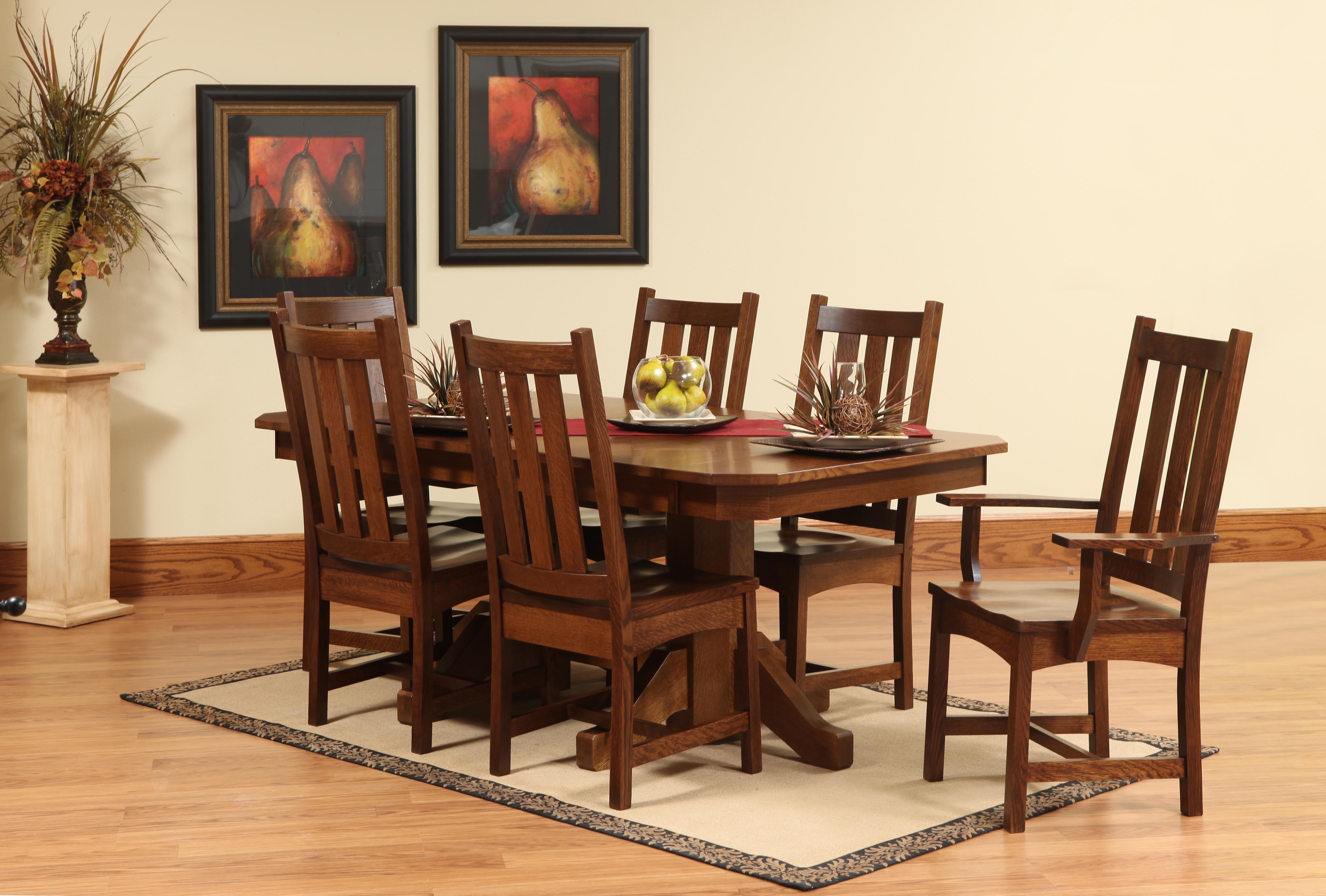 craftsman set amish dining sets pinterest