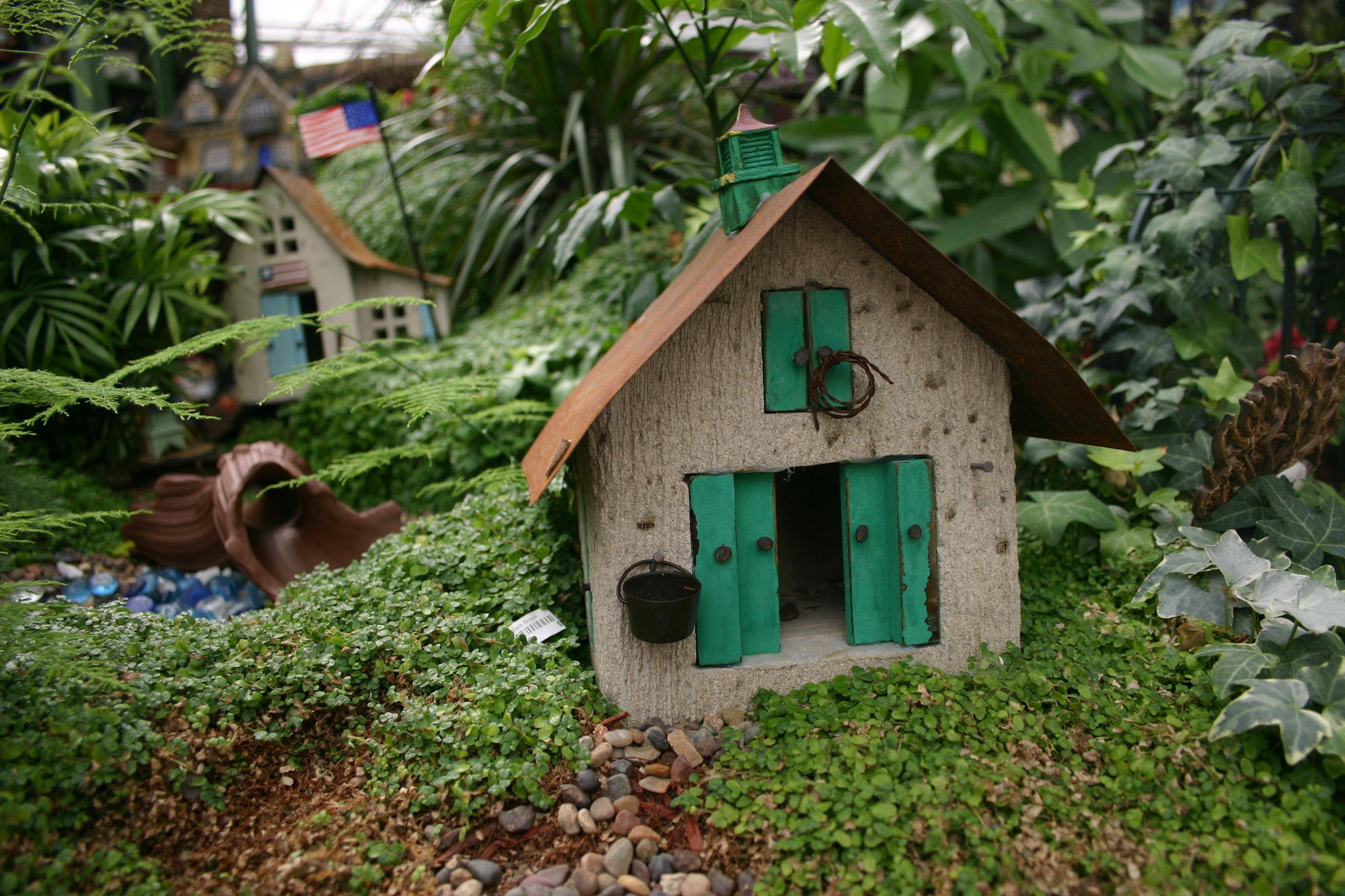 Fairy Garden Fairy Faery Faire Houses Gardens Pinterest